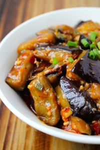 Vegan Fish-Flavored Eggplant