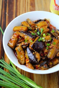 Vegan Fish-Flavored Eggplant 3
