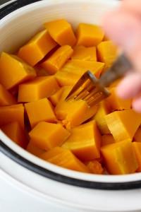 Homemade pumpkin Puree 3