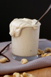 Maple Vanilla Cashew Cream
