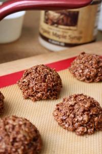 Recipe Redux No-Bake Cashew Butter Chocolate Oatmeal Cookies 1