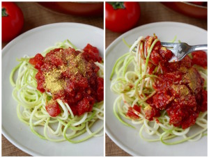 Simple Marinara Sauce Collage