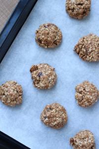 Chewy Vegan Oatmeal Date Cookies 2