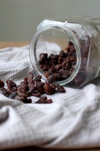 Chocolate Covered Raisin Drop Cookies 4