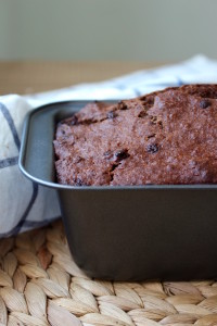 Double Chocolate Vegan Banana Bread 3