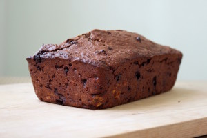 Double Chocolate Vegan Banana Bread 4