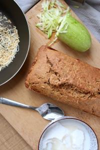 Vegan Coconut Zucchini Bread 5