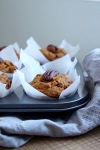 Vegan Pumpkin Pecan Muffins 5