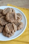 4 Ingredient Vegan Peanut Butter Cookies