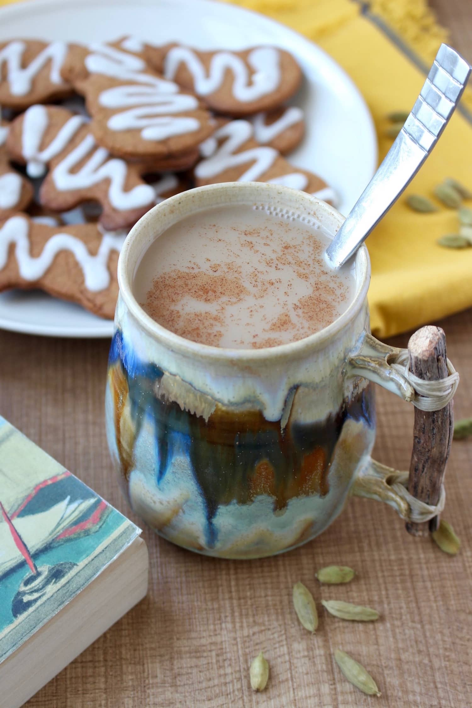 Dairy-free Indian Chai drink