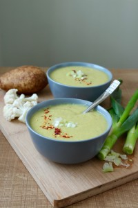 Vegan Cauliflower Curry Soup 4