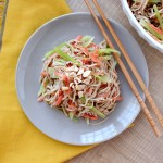 Cold Chinese Noodle Salad