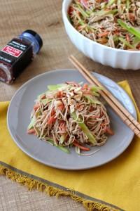 Cold Asian Noodle Salad 2