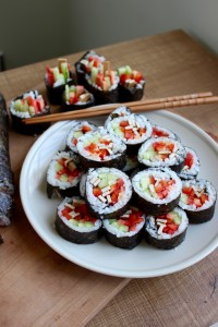 How to Super Simple Vegan Sushi 1