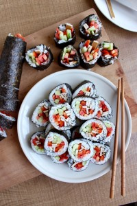 How to Super Simple Vegan Sushi 2
