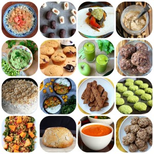 My favorite recipes from 2015 Collage