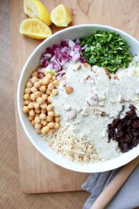 Brown Rice Salad with Italian Tahini Dressing 4