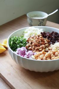 Brown Rice Salad with Italian Tahini Dressing 6