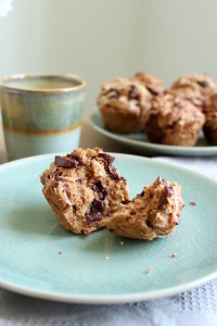 Toasted Coconut Chocolate Chunk Vegan Muffins 5