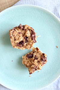 Toasted Coconut Chocolate Chunk Vegan Muffins 7