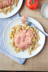 Vegan Pink Pasta Sauce 8