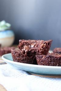 Vegan Toasted Coconut Chocolate Chunk Brownies 4