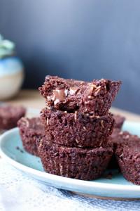 Vegan Toasted Coconut Chocolate Chunk Brownies 5