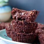 Vegan Toasted Coconut Chocolate Chunk Brownies
