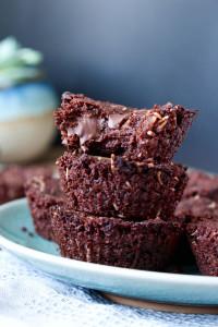 Vegan Toasted Coconut Chocolate Chunk Brownies 6
