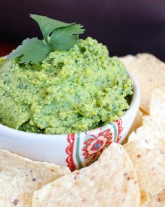 5 Ingredient Oil Free Tahini Free Cilantro Lime Hummus
