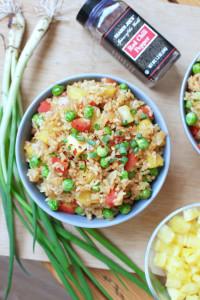 7 Ingredient Pineapple stir %22fried%22 rice 1-1