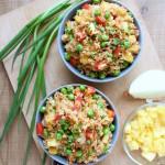 """7 Ingredient Pineapple Stir """"Fried"""" Rice"""