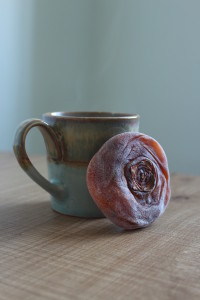 Dried Persimmon and tea