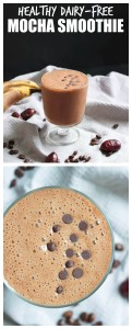 Healthy Dairy-Free Mocha Smoothie