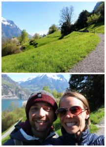 Hiking in Luzern Collage