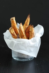Oil-Free Baked Sweet Potato Fries-4