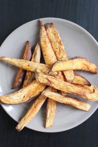 Oil-Free Baked Sweet Potato Fries-6