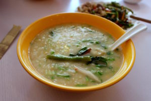 Chinese Congee Soup