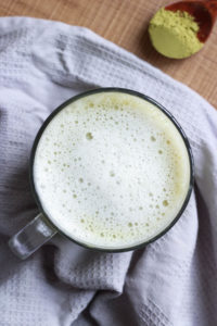 How to: Dairy Free Matcha Latte