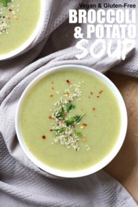 Simple Dairy Free Broccoli and Potato Soup