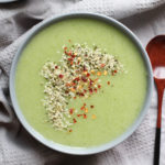 Dairy Free Broccoli, Cauliflower and Potato Soup