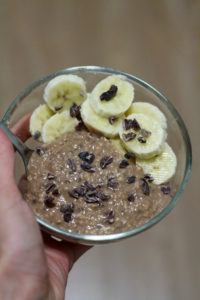 WIAW Home Alone Chocolate Protein Overnight Oatmeal