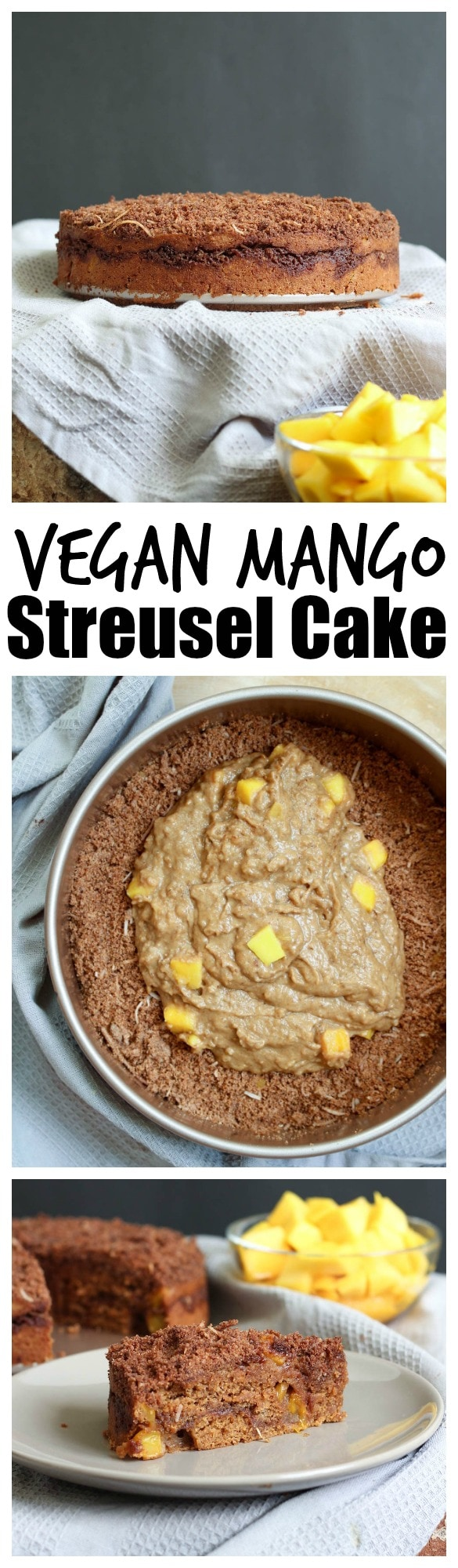 Vegan Mango Streusel Cake The Conscientious Eater How Is The Best Way To  Eat A Mango