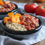Cumin Chickpeas with Tomato