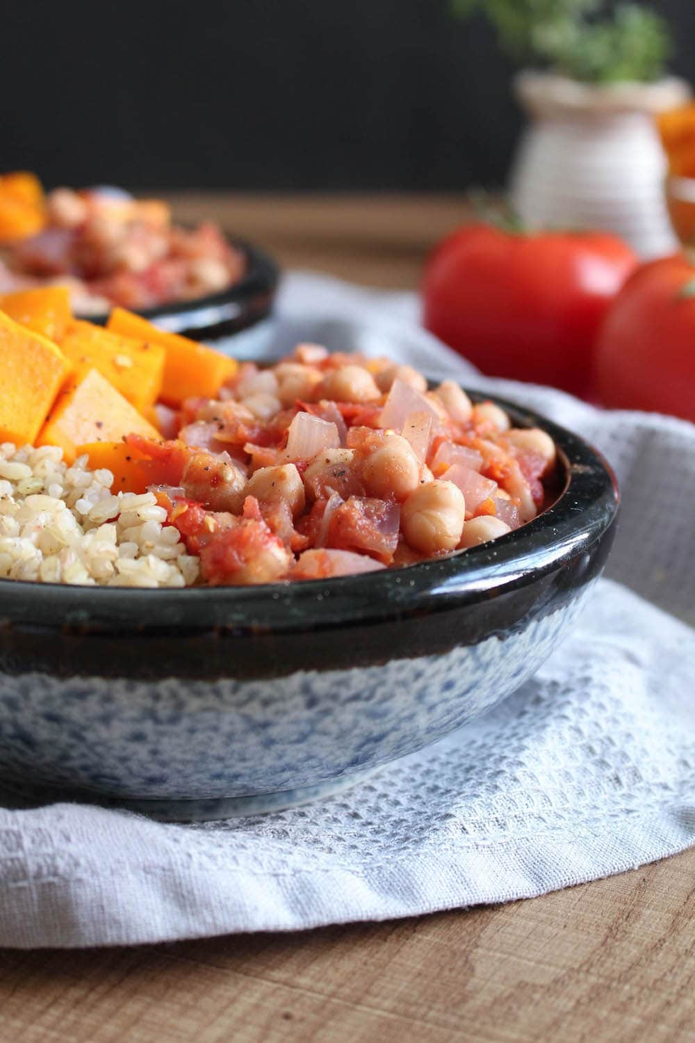 Cumin Chickpeas with Tomato | The Conscientious Eater