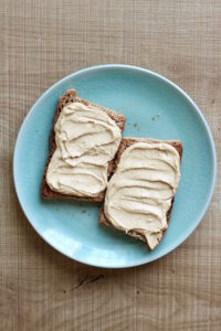 Vegan Peanut Butter Toast