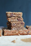 Vegan Coconut Chocolate Chunk Blondies