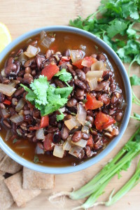 Simple Black Bean Soup 2