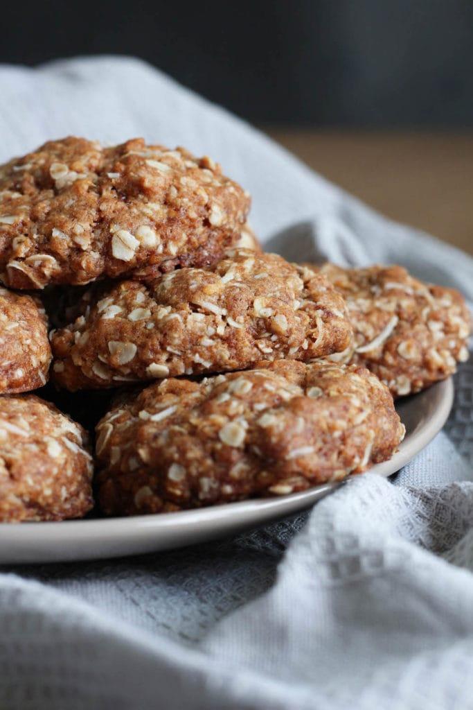 Vegan Coconut Oatmeal Cookies-2