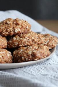 Vegan Coconut Oatmeal Cookies-3